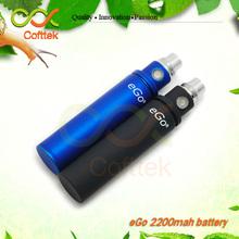alibaba com newest big capacity 2200mah ego long lasting ego 2200mah e cig battery from cofttek