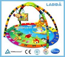 Pvc floor mat folding baby travel crib PM-T-1-90101