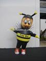 Interessante animal figura inflável, freebee mascote