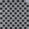 high quality tile crystal glass mosaic hand-print mosaic tile for
