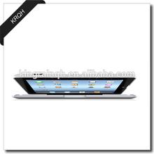 High quality thin aluminium alloy wireless bluetooth keyboard case for ipad air