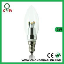 new products 210lm 3W e14 led bulb lamp china