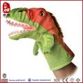 projeto personalizado de alta qualidade dinossauro de pelúcia fantoche