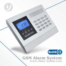 LCD Security Wireless&Wired GSM Autodial Burglar Intruder Fire Alarm System Kit