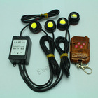 Brand new DRL 4*1.5W Car Strobe Flash Eagle Eye Reverse Backup Stop Daytime Running Light with Remote Control