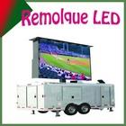 Buena calidad/movil/elevador/giratorio/ Remolque Pantalla led al aire libre, de camiones, para video o publicidad