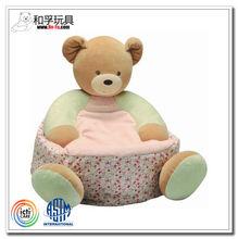 Giant teddy bear stuffed plush baby animal sofa chair for kids