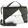 New designer handbags fashion color collision women tote bags EMG3592