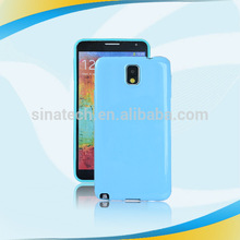 New arrival stylish gel phone covers for samsung galaxy note3
