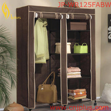 JP-WR125FABW High Quality Wooden Sliding Folding Wardrobe S