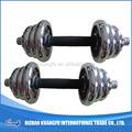 Equipamentos deginástica/dumbbell ajustável/fitness