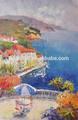 pintados à mão pinturas acrílicas paisagens sobre tela