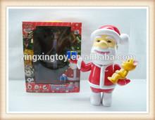 Christmas electric santa claus toy talking Santa claus christmas toy