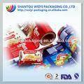 Alimentos filme laminado de embalagem/alimentos filme laminado de embalagem para pipoca/pebdl película de embalagem
