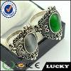 China fashion jewelry elegant crystal and jade rings