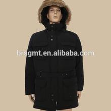 Men's woven fashion high quality winter jacket / parka