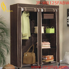 JP-WR125FABW Hot Selling Wardrobe Closet Armoire With Bench Base