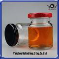 60ml petit pot en verre avec couvercle