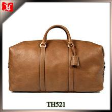 Wholesale high quality men travel duffel bag leather bag travel