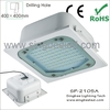 meanwell driver led canopy light with ce rohs 24v led light