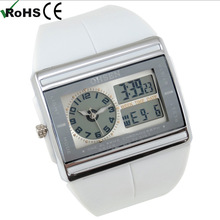 Cool LCD Digital water resistant men watches Alarm stopwatch Sport Wrist Quartz Watch Gift