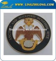 Car Metal Emblem Badge Eagle Totem Star 3D Logo