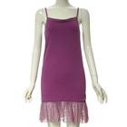 2014 new model of bangkok girls lace match chiffon dresses