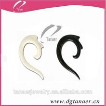 Fake expander screw on ear piercing
