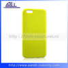 Yellow Excellent TPU high class mobile phone case for iphone