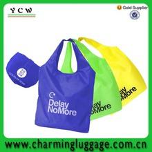 wholesale cheaper foldable nylon shopping bag for promotion
