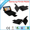 bluetooth keyboard for Samsung P6200 galaxy tab 7 with leather case+silicone keyboard