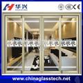 El calor- aislado con marco de aluminio correderas puerta de entrada principal de diseño