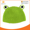 Girls Baby Toddler Knit Crochet Knitted Green Frog Hat+Pants