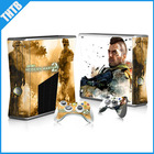 stylish design with top quality vinyl skin for xbox 360 slim decal sticker wholesale