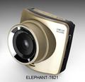 بوصة 2.4 f1.8 المتقدمة مسجل سيارة الكاميرا مع wdr، كشف الحركة، sos، تسجيل حلقة، g-- مستشعر