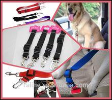 2014 Wholesale Nylon Fabric Pet Safe Belt & Buckle Car Seat Belt Extender Dog Car Seat Belt Clips