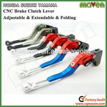 CNC Alloy Aluminum Adjustable Folding Extendable Brake Clutch Levers for SUZUKI GSR600 2006-2011