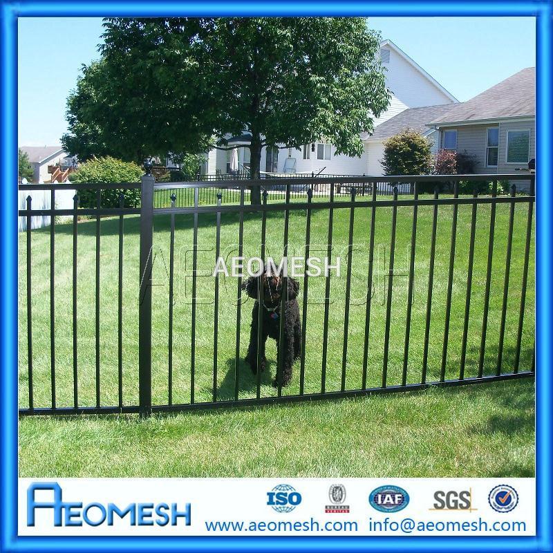 China Decorative Aluminum Grill Garden Modern Fence Gate