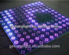 dmx/Newest 12 x12 dots touch sensitive led dance floor