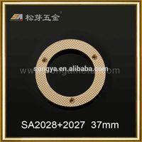 Latest design Zinc alloy 25mm key ring