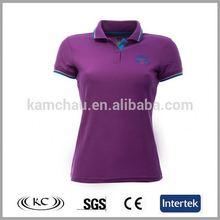stylish uk woman purple wholesale compressed t-shirt
