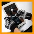 hombres guantes de coz de la pantalla táctil