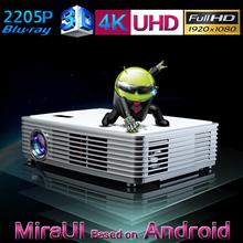 native full hd led projector 1080p / dlp link 3d led projector / hd 3d led android projector