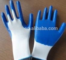 Economy Latex Rubber Palm Glove ,heavy duty rubber gloves
