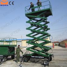 18m hydraulic trailing electric motor lift