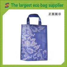 Logo Printed Non Woven Bags Cute Non Woven Shop Bag
