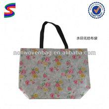 Kids Non Woven Shopping Bag Environmental Pp Non Woven Shopping Bag