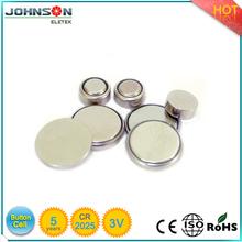 Hotsale lir2025 rechargeable button battery 3V