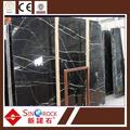 guangxi nero marquina grande lastra di marmo per la vendita