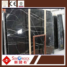 Guangxi Black Marquina Marble Big Slab for sale